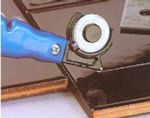 multicut universalmesser mit glasschneider. Black Bedroom Furniture Sets. Home Design Ideas